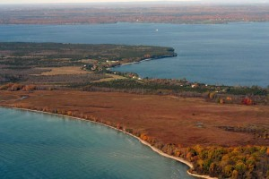 Prince Edward County South Shore: major pathway for migratory birds