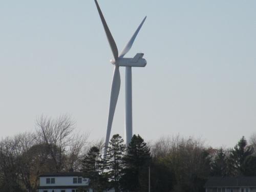 turbine and houseClose