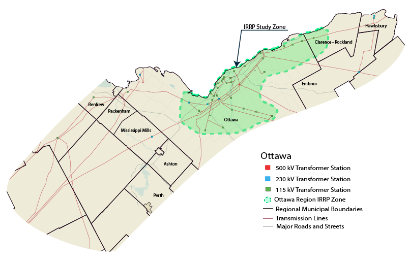 Regional power plan Ottawa Wind Concerns