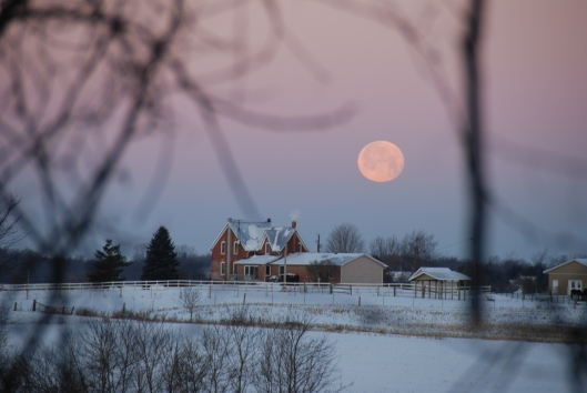 moon over fourth line farmhouse